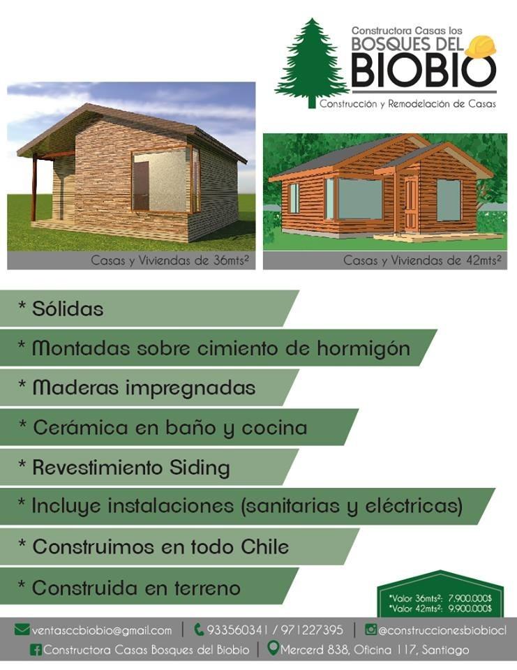 Casas Prefabricadas De Madera 5 990 000 En Mercado Libre