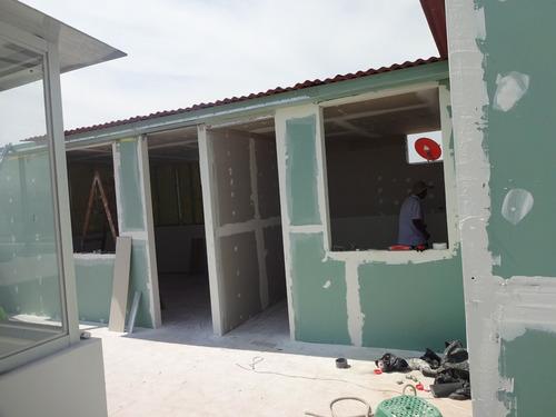 casas prefabricadas, drywall , cuartos, divisiones, of