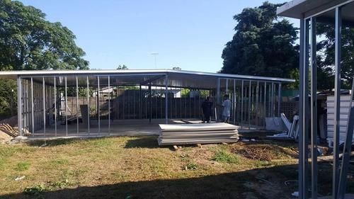 casas prefabricadas económicas de steel framin isopanel ymás