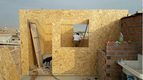 casas prefabricadas, entablados y campamentos de madera