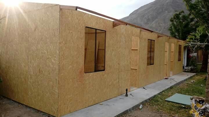 Casas prefabricadas estructuras y pisos de madera s 1 - Estructuras casas de madera ...