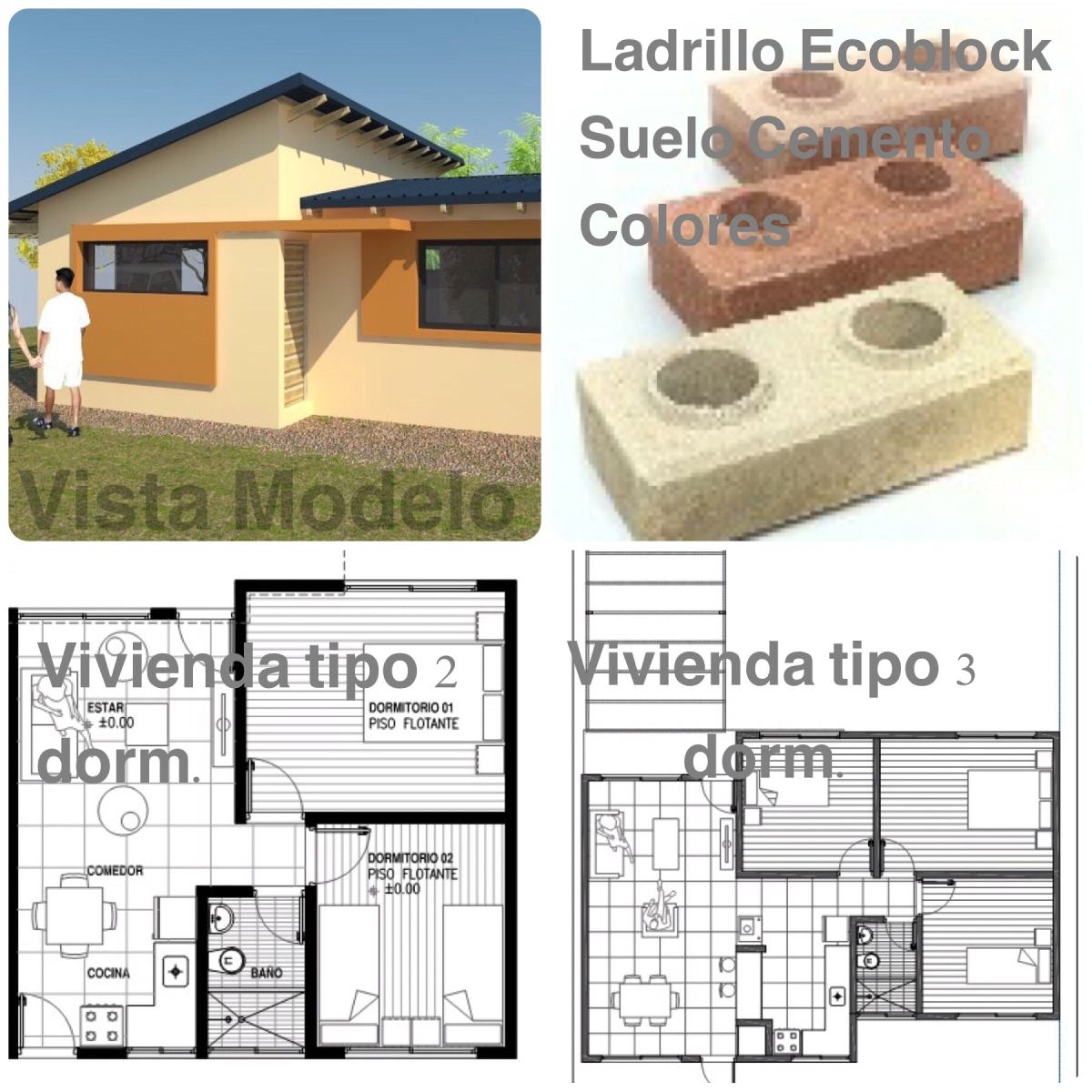 Casas prefabricadas ladrillo ecoblock llave en mano bps for Casas llave en mano
