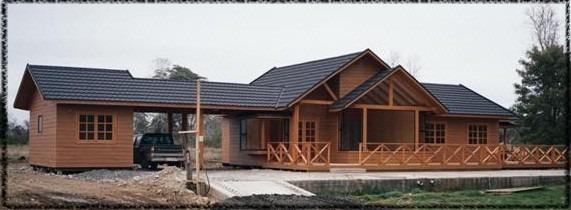 Casas prefabricadas llave en mano en todo chile 45 - Bungalows de madera prefabricadas precios ...