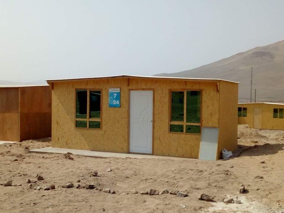 casas prefabricadas  madera  - drywall