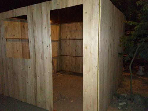casas prefabricadas madera y drywall - modulos prefabricados