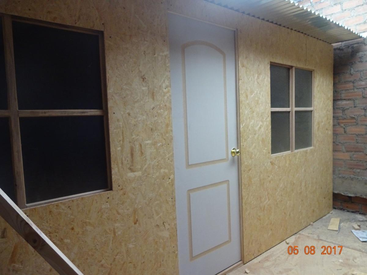 Casas prefabricadas madera y drywall modulos prefabricados en mercado libre - Casa de modulos prefabricados ...