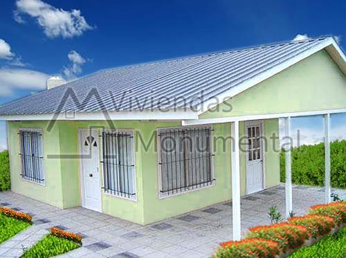 casas prefabricadas premoldeadas - viviendas monumental -