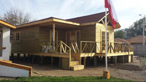 casas prefabricadas y construidas en terreno