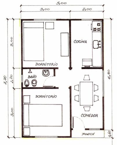 casas premoldeadas modelo minimalista- viviendas monumental
