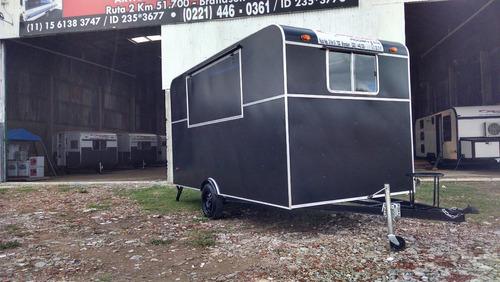 casas rodantes.trailer gastronom 4,00 mts rodantes brandsen