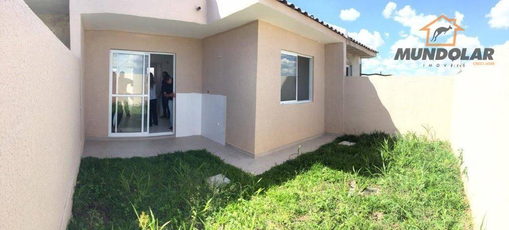 casas/ sobrados em condomínio e casas frente para rua bairro costeira em araucária - ca1451