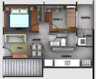 casas sobrepostas duplex - casa verde