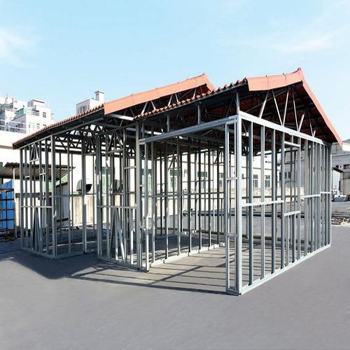 casas steel framing (estrutura de acero)