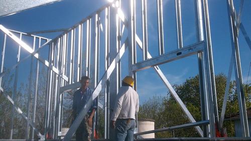 casas steel framming  construccion en seco apto procrear