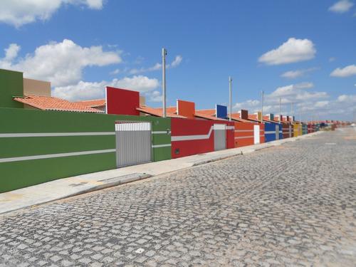 casas térreas de 2/4 c/suíte de 60m² por 99.900,00 (taxas in
