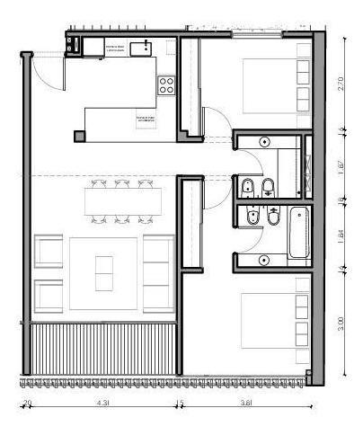 casas urbanas - ph 3 amb al frente c/balcon terraza