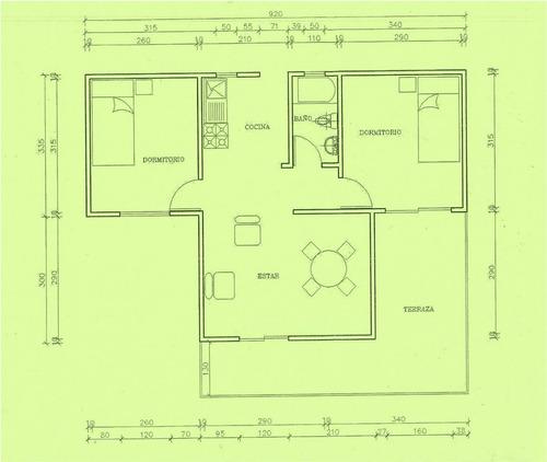 casas y cabañas de madera (construcción en terreno)