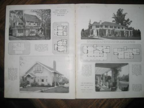 casas y jardines house & garden´s book of houses 1920