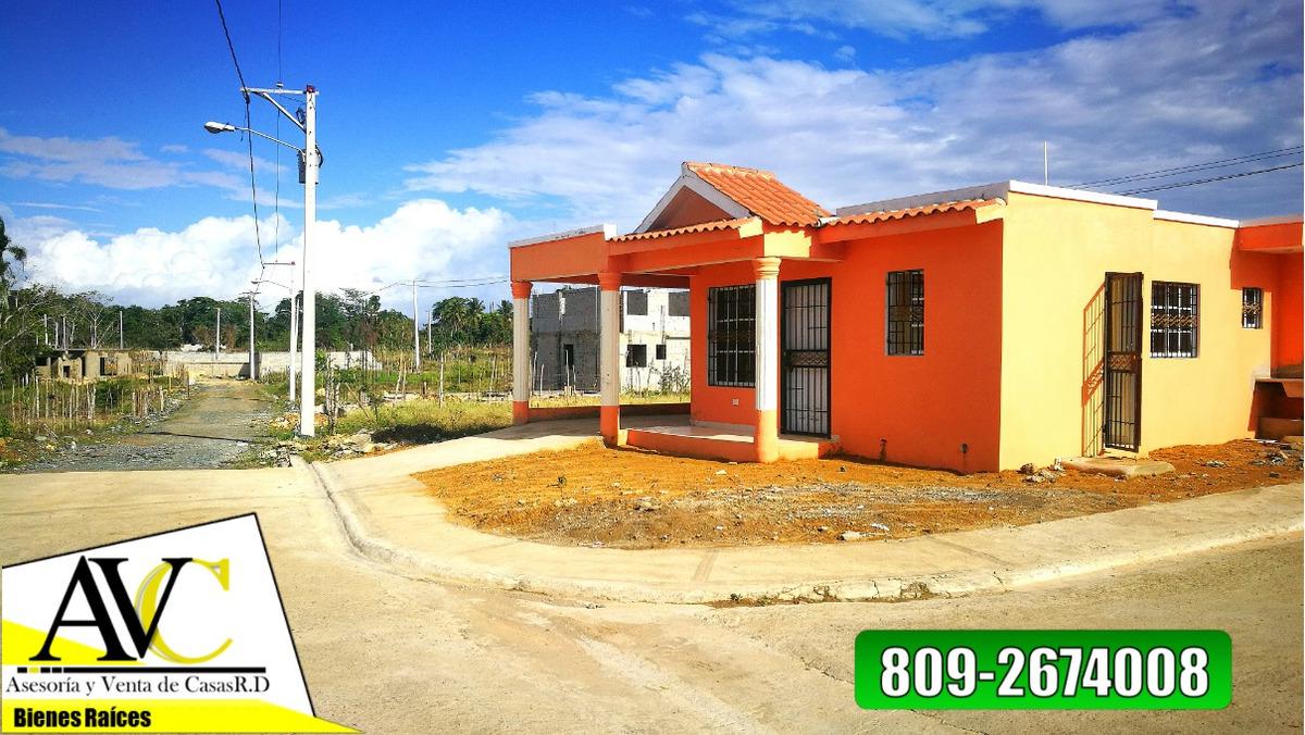 casas y solares residencial a borde de avenida