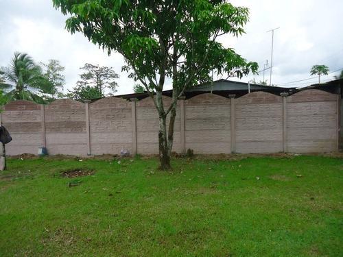 casas y tapias prefabricadas en poas