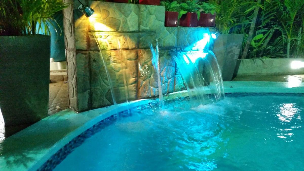 Cascada 60cm fuente para piscina de fibra de vidrio bs en mercado libre - Fuentes para piscinas ...