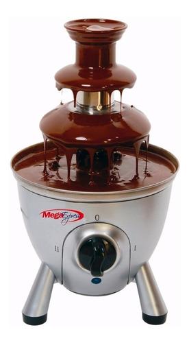 cascada de chocolate fuente  para fondue 3 pisos megaexpress