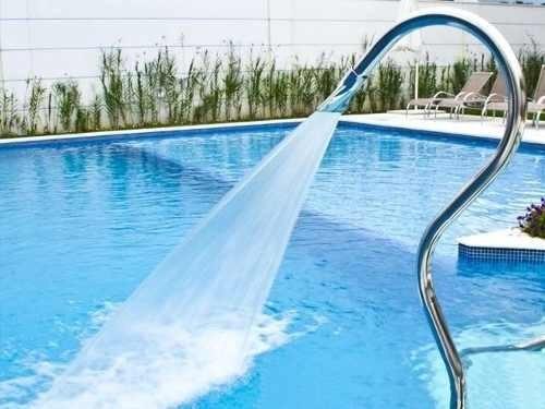 cascada para piscina acero inox modelo tubolar splash