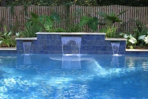cascadas 36 pulg 1  de labio tipo natural albercas piscinas