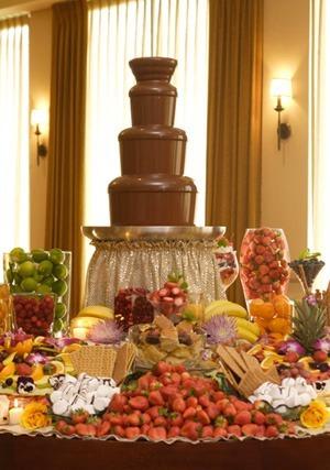 cascadas de chocolate de 4 pisos the chocolate fondue