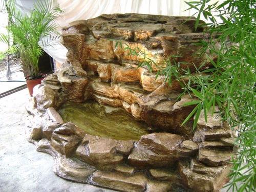 cascadas en resina
