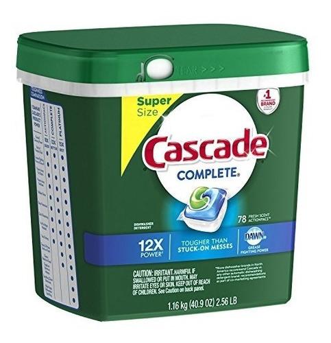 cascade complete actionpacs detergente para lavavajillas,