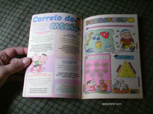 cascao n. 449 - editora globo