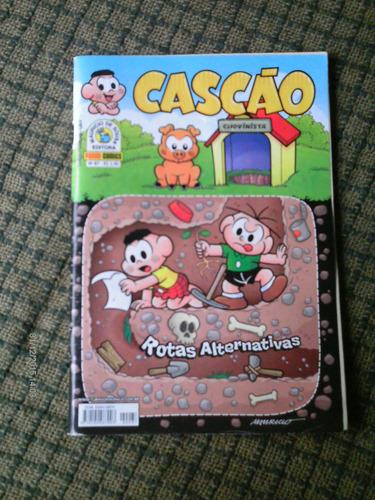 cascao n. 87 - panini (março/ 2014)