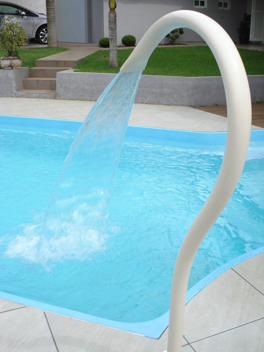 Cascata para piscina cisne com frete gr tis r 289 00 em for Piscinas desmontables pvc ofertas