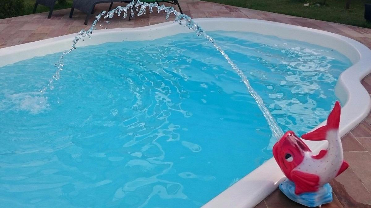 Cascata para piscina lan amento modelo carpa compre for Carpas para piscinas
