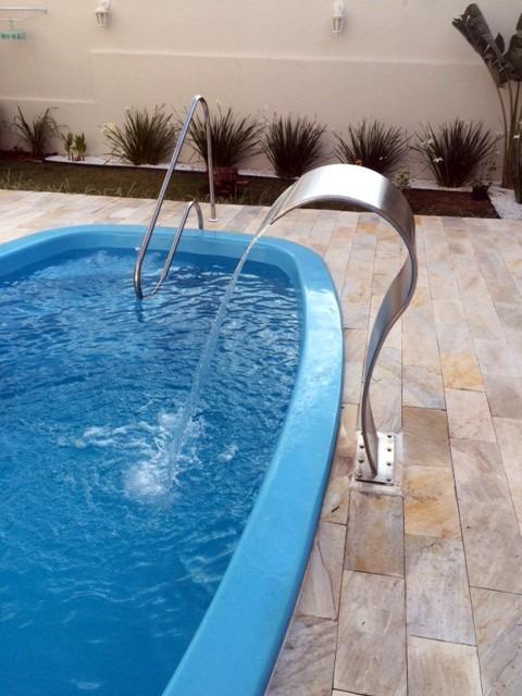 Cascata para piscina sertech high tech tipo naja 105cm r - Piscina a cascata ...