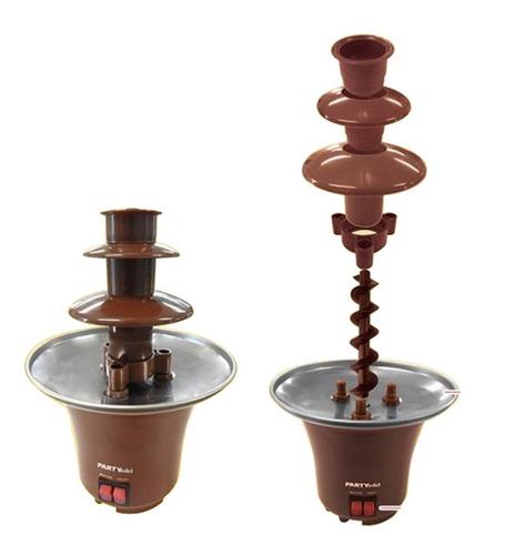 cascata torre 110v fonte chocolate eletrica fondue
