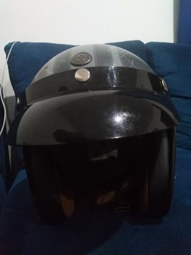 casco 3/4 inmortale craneo