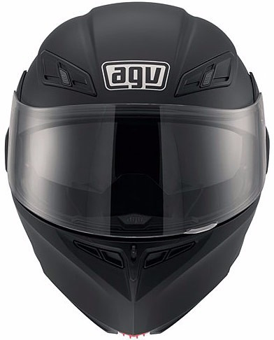 casco abatible agv compact negro mate rider one