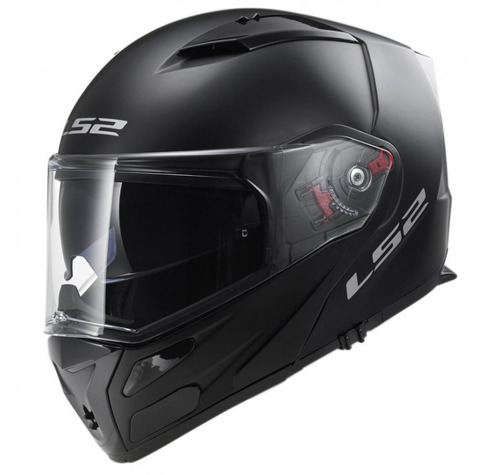 casco abatible ls2 324 doble visor + pinlock