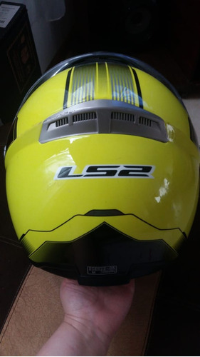 casco abatible ls2 para moto bici