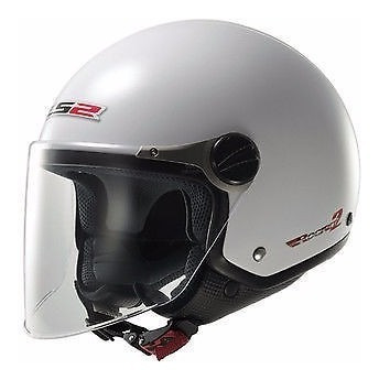 casco abierto ls2 of560 rocket 2 white visor devotobikes