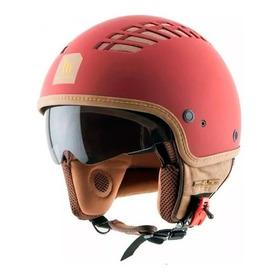 Casco Abierto Mt Helmets Le Mans Cosmo Rojo Xl Nuevo