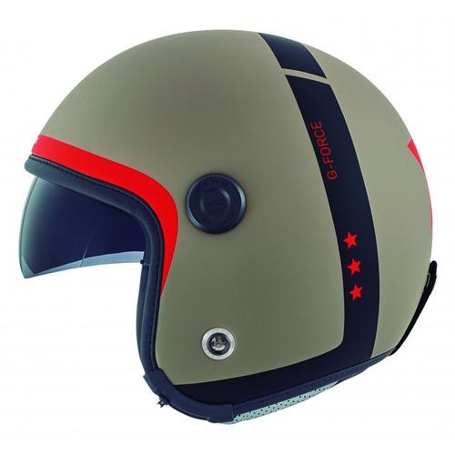 casco abierto nexx x70 g-force desert mate