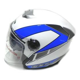 Casco Abierto Okn9 Doble Visor  Motoshop16