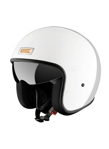 casco abierto origine sprint v537 bianco l cafe racer