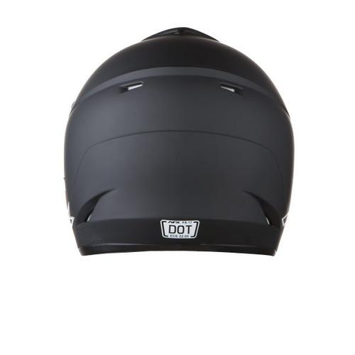 casco afx fx-17 sólido negro sm mx