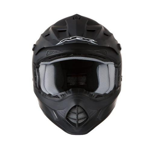 casco afx fx-17 sólido negro xl mx