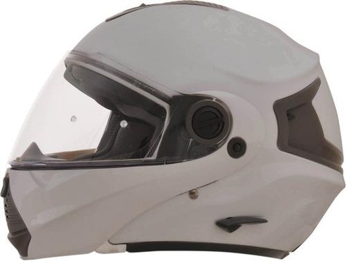 casco afx fx-36 2016 modular plateado md