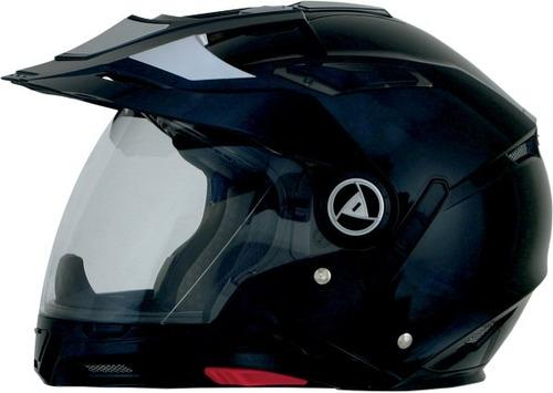 casco afx fx-55 7 en 1 rostro completo negro md